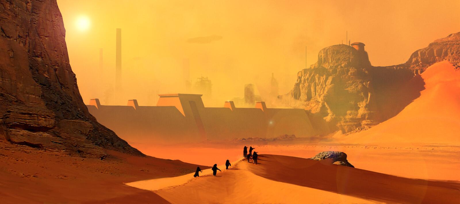 Arrakis Shield Wall