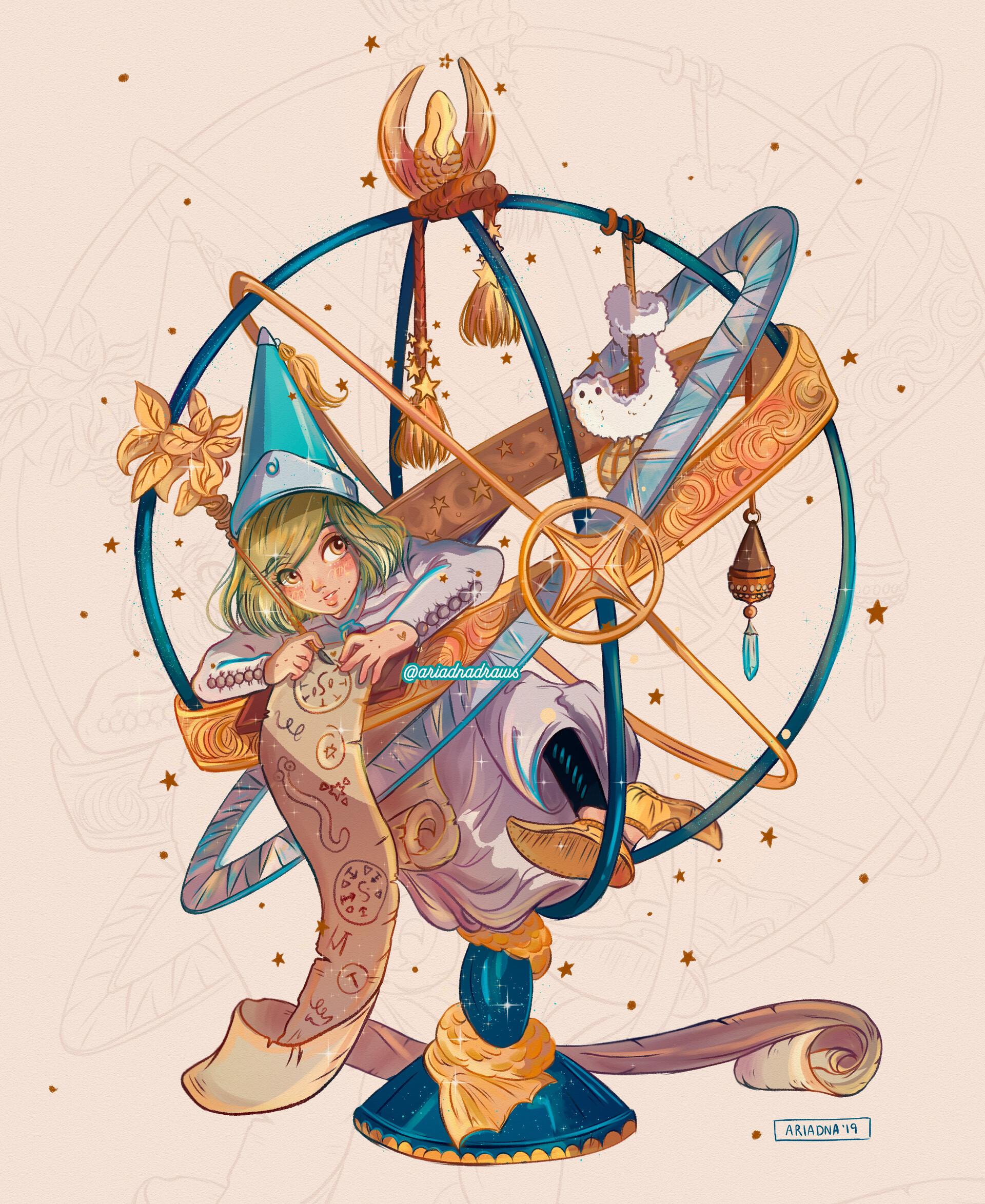Artstation Atelier Of Witch Hat Ariadna Oliver