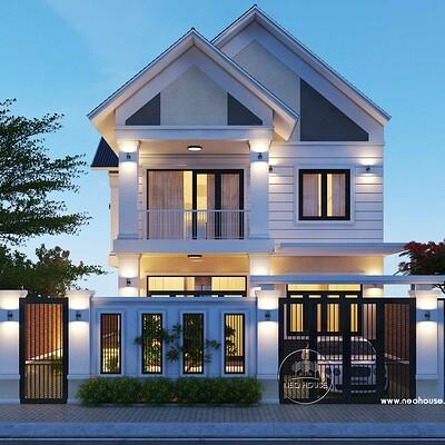 Neohouse architecture biet thu vuon mai thai tai binh phuoc