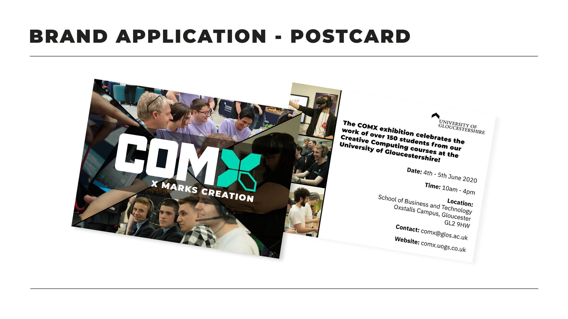 Kyle tugwell s1602904 comxbrandingguidelinesbrand application postcard