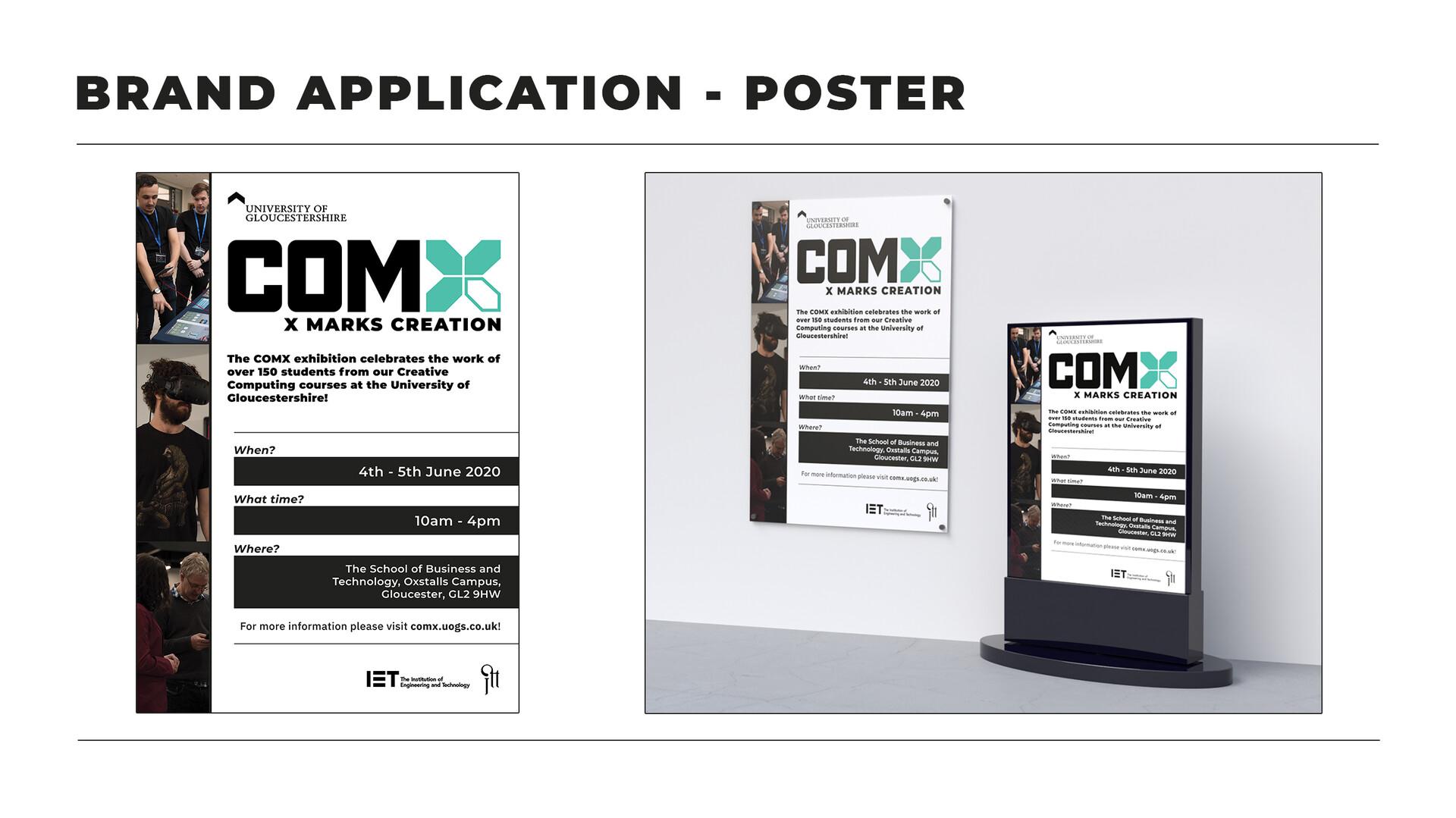 Kyle tugwell s1602904 comxbrandingguidelinesbrand application poster