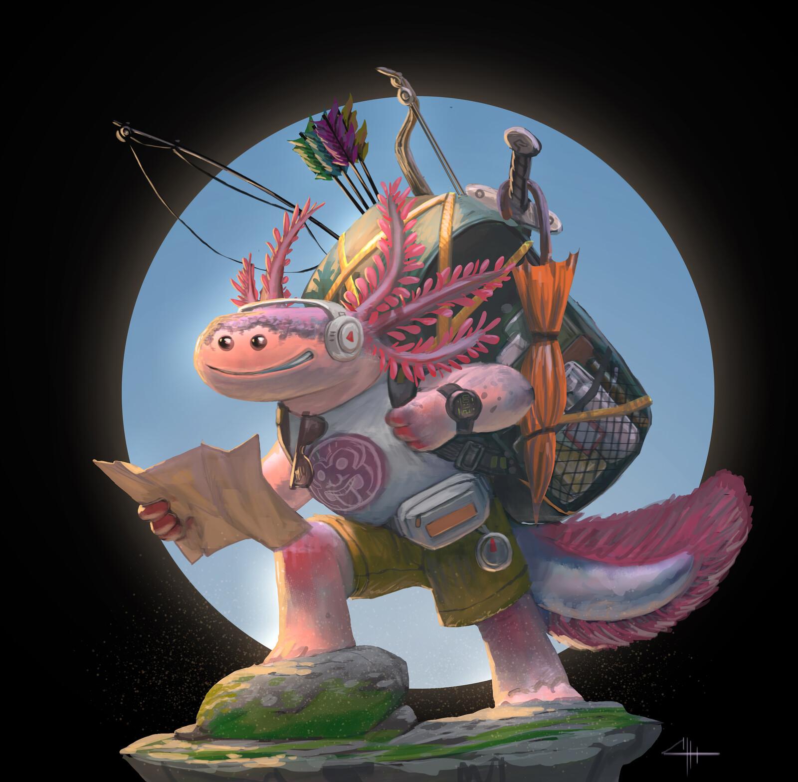 Axolotl Adventurer