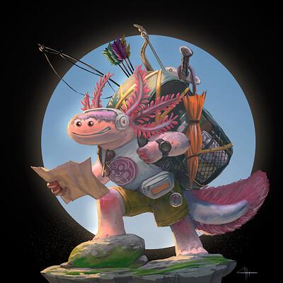 Sax irfan axolotl