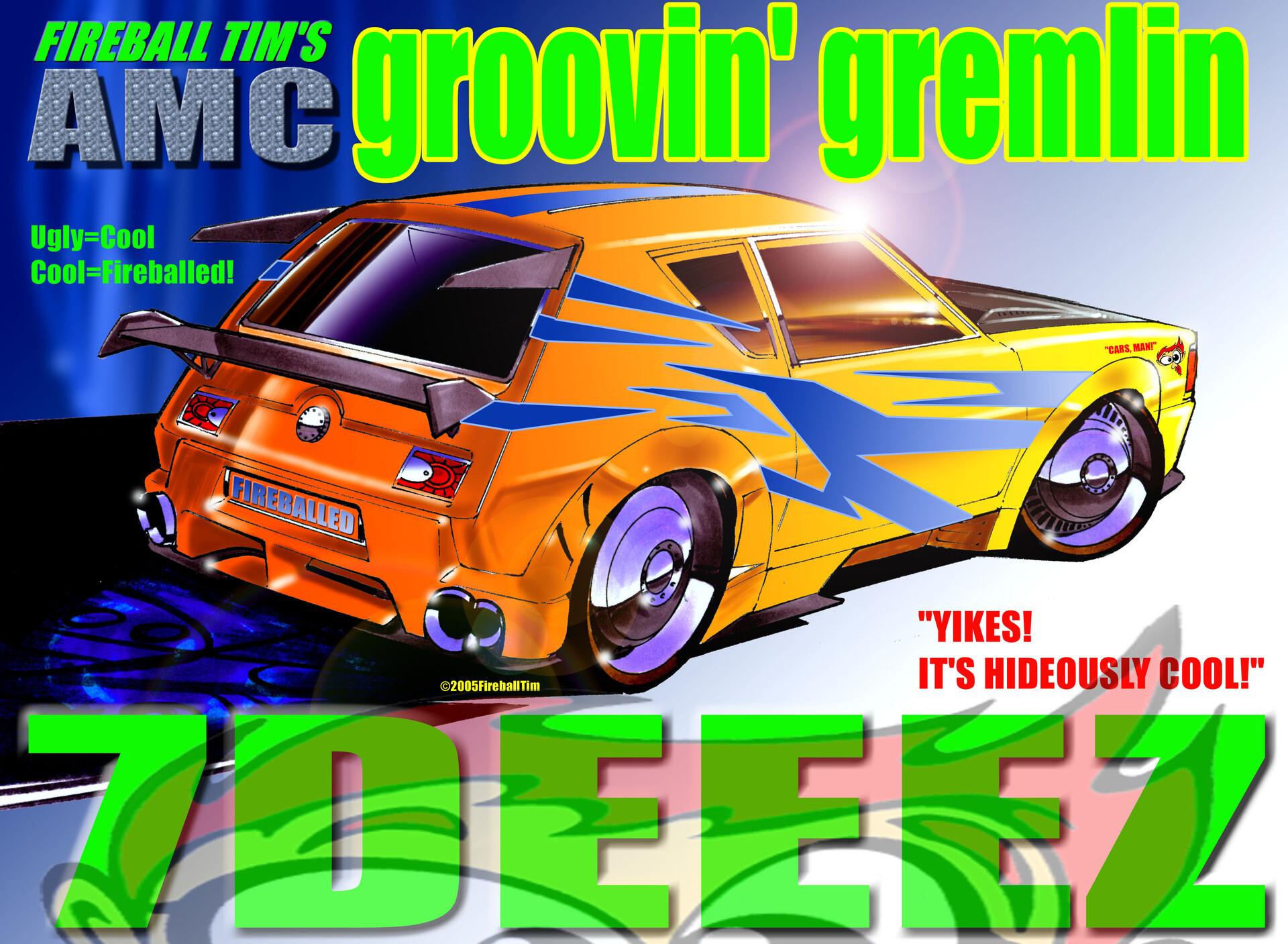 Groovin' Gremlin - Client -FUNRISE