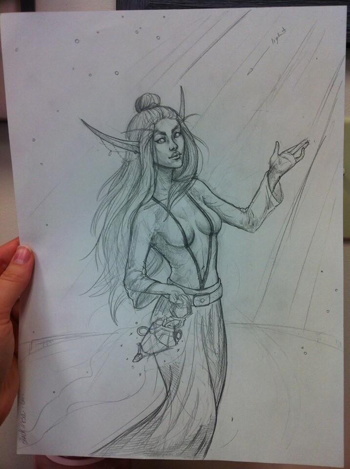 Rough sketch!