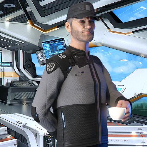 Commander Elbert Miller