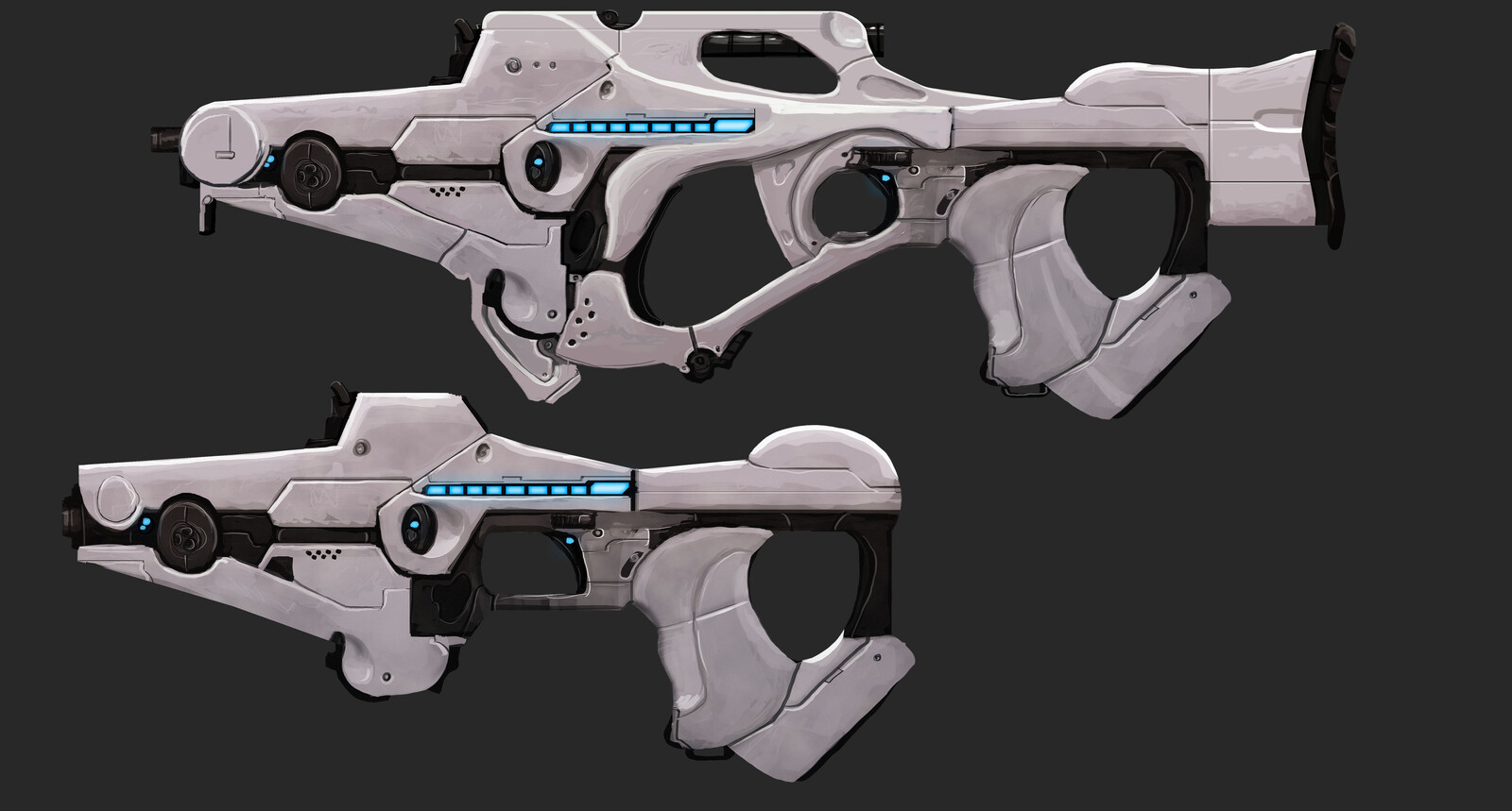 Imperial Laser Rifle and Pistol