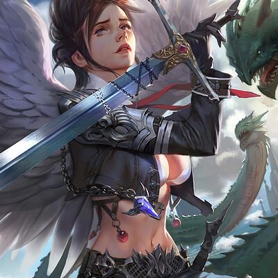 Joo joo angel s fighter