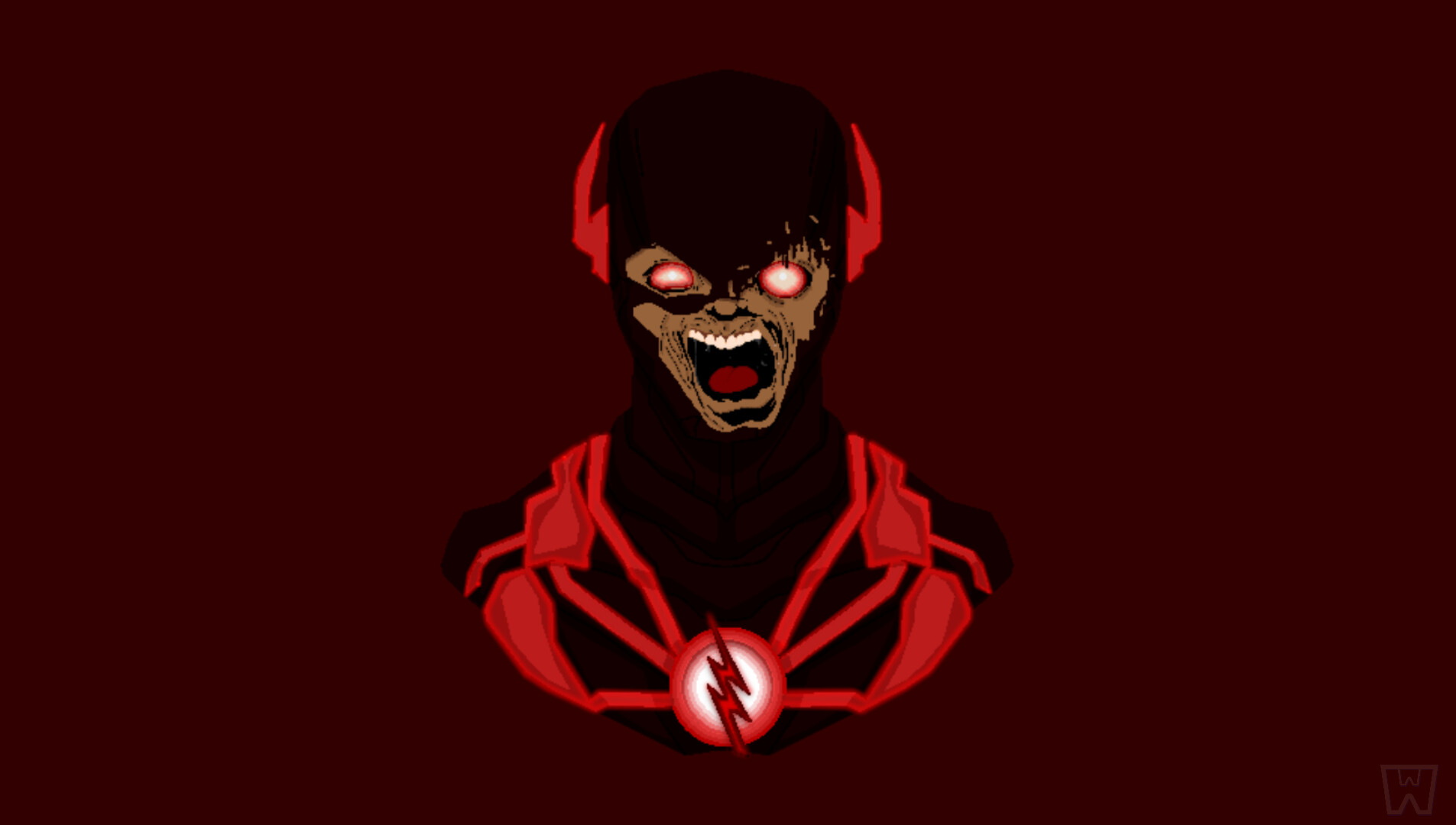 Artstation Black Flash Zoom Cw S Flash Front Pop Headshots 3 W3xs3lcior9