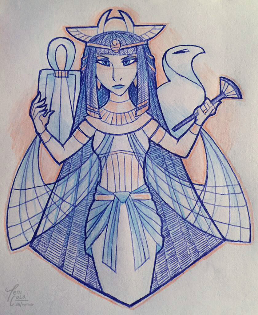 ISIS -- The Goddess of Magic, health, marriage, and motherhood
