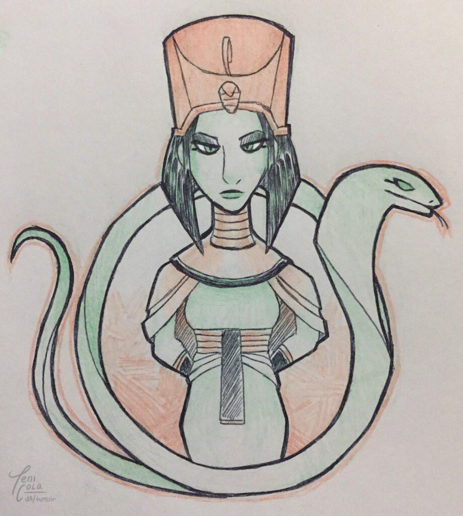 WADJET -- The patron Goddess of Lower Egypt.