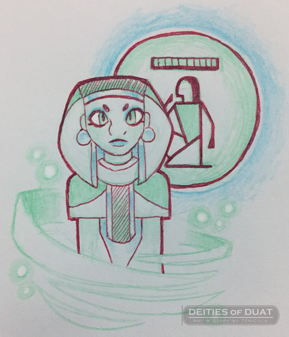 SIA -- The personified God of Divine Perception.