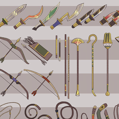 Teniola coker divine weapons examples compiled