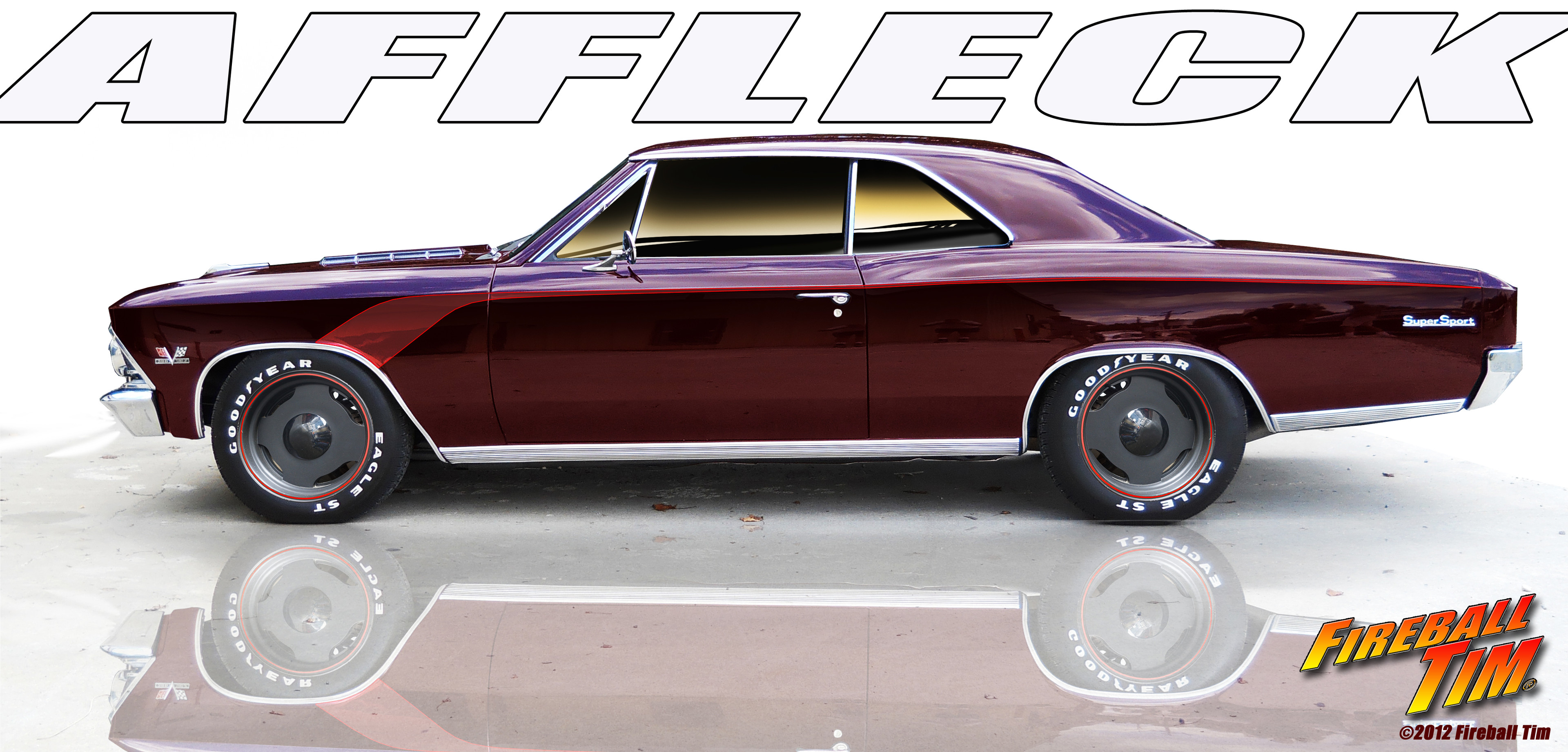 Chevelle Designed and built for Actor BEN AFFLECK