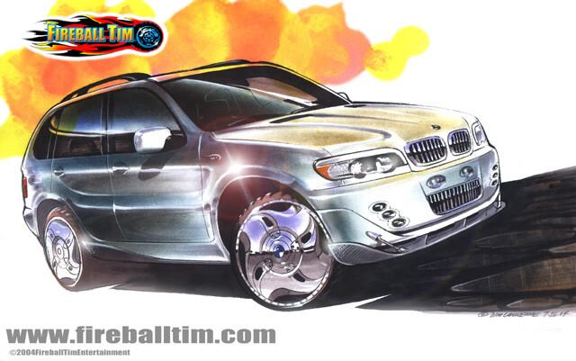 BMW Custom Facia - PRIVATE CLIENT