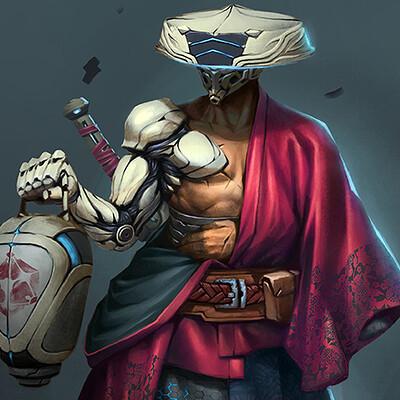 Charlo nocete samurai2