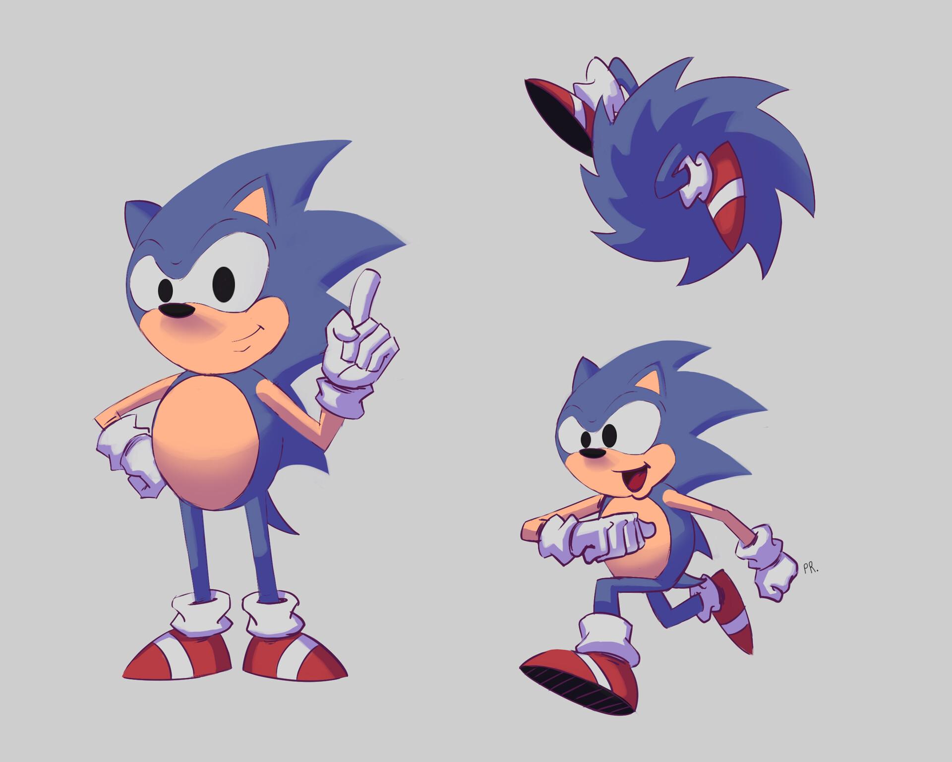 Artstation Sonic The Hedgehog Plinio R