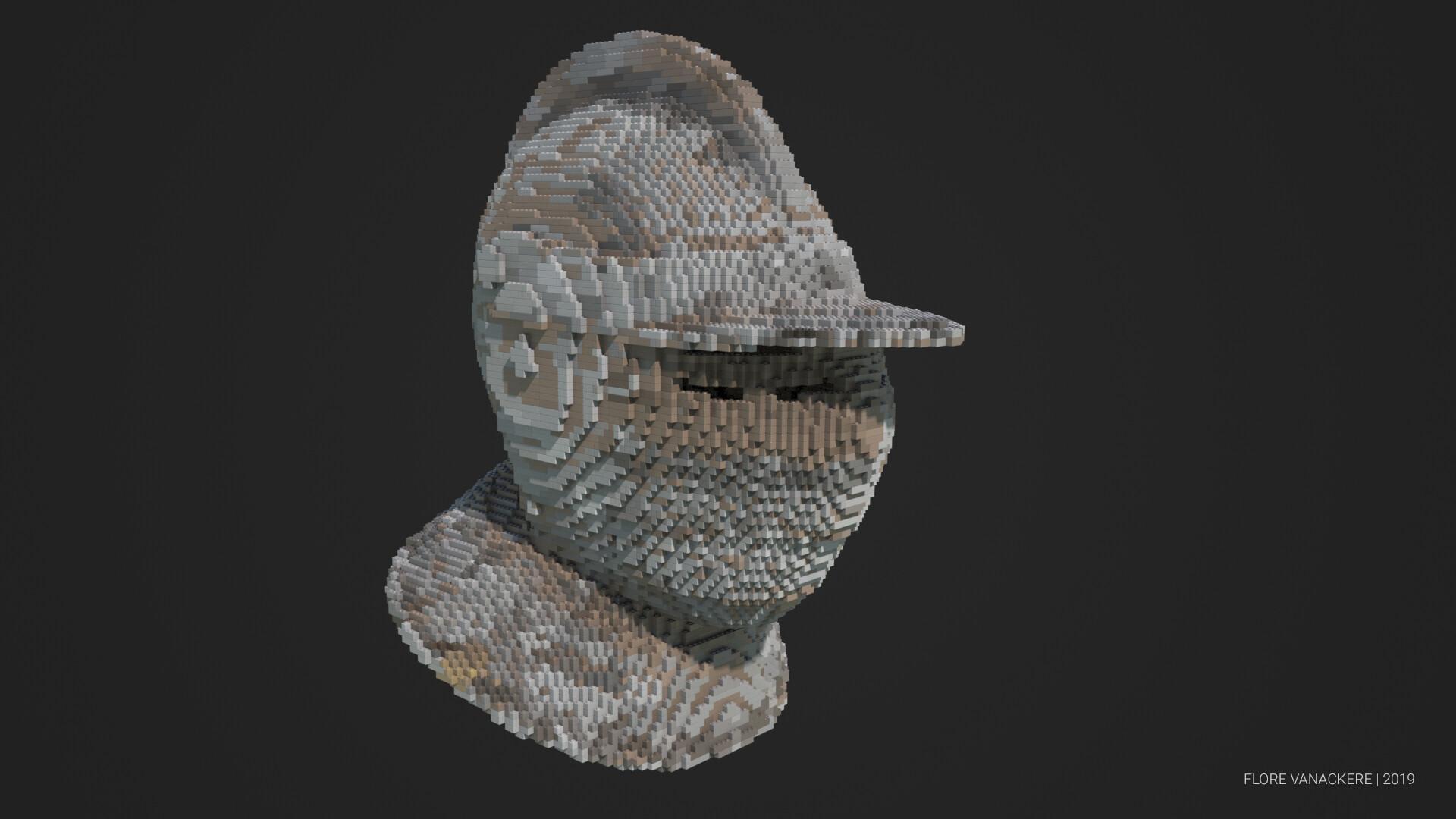 Flore vanackere helmet