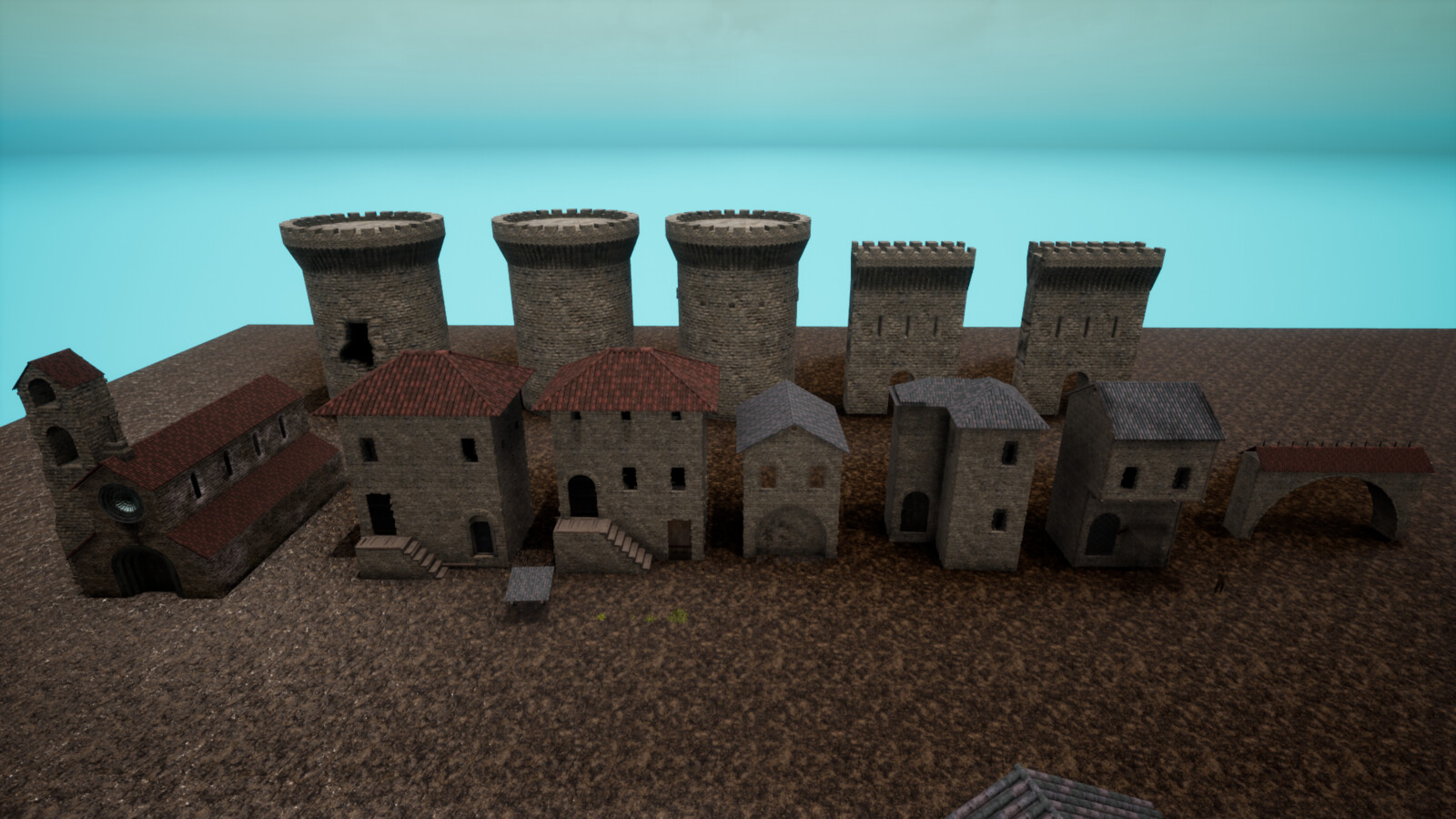 selection of modular buildings