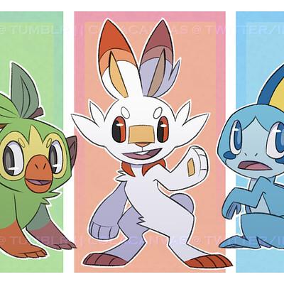 Teniola coker gen 8 pokemon starters