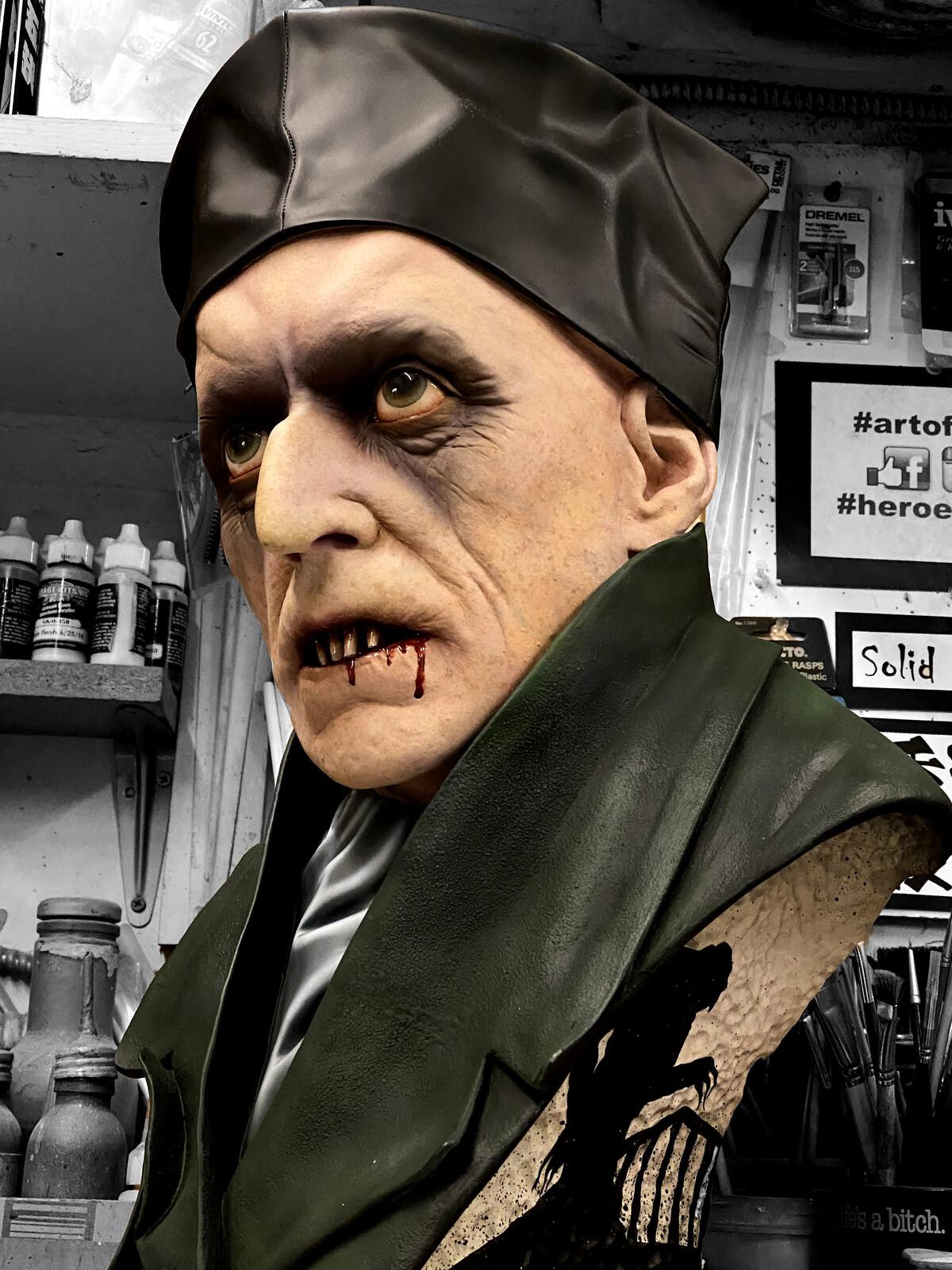 Nosferatu Life-Size Bust 2.0 W.I.P 😅