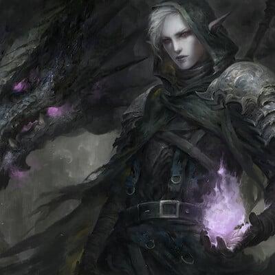 Lee kent nabil dark elf render 3