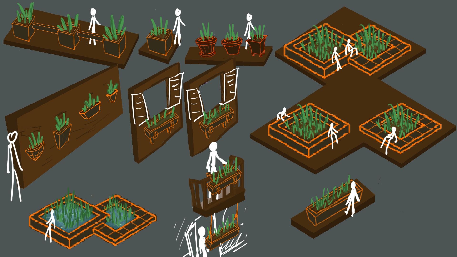 Alexander laheij plant pots fix