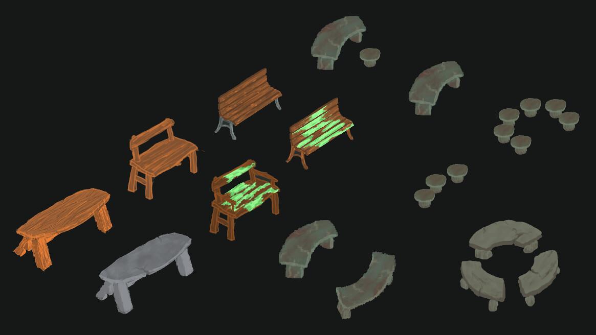 Alexander laheij benches fix