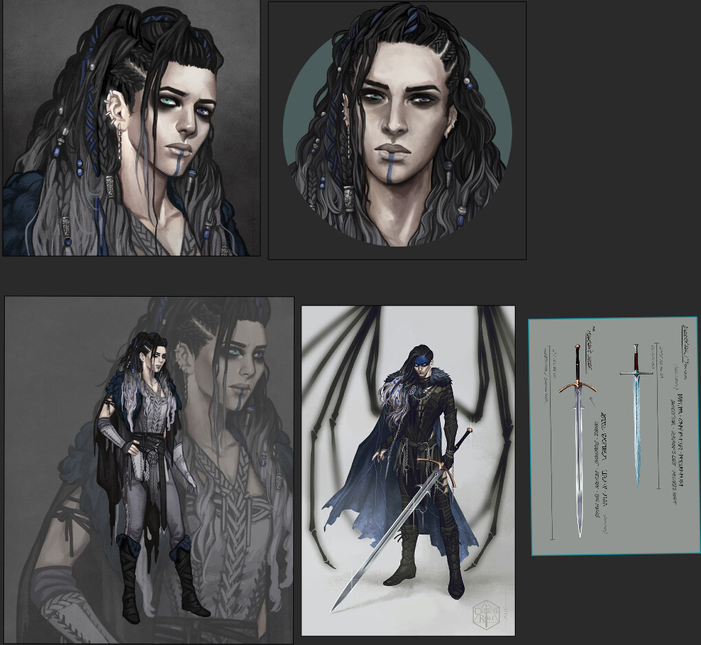 original concepts by Ari (@ornerine)