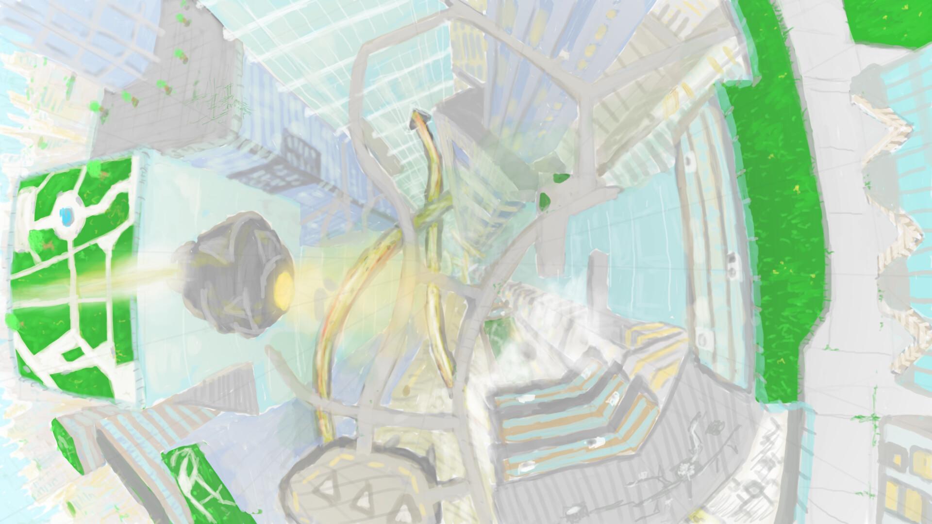 Alexander laheij wip 01 scifi cityscape 01
