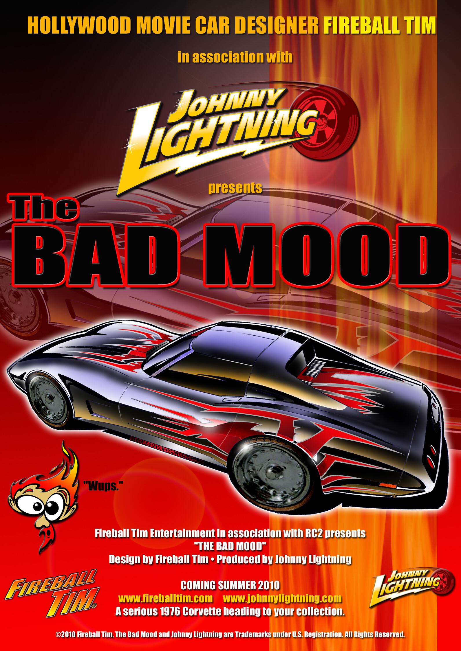 BAD MOOD 1 - CLIENT - JOHNNY LIGHTNING/RC2