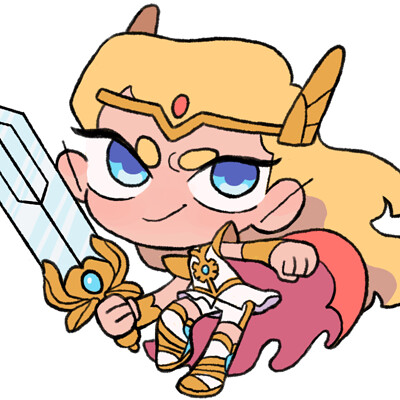 Rhael mcgregor shera stickers 1