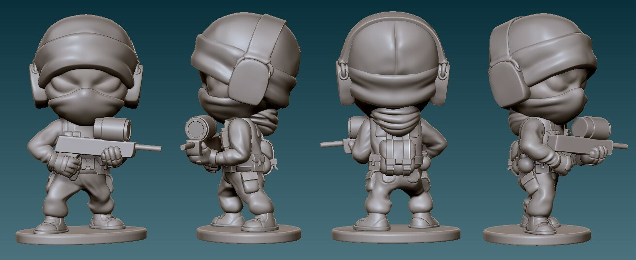 Glaz Final Sculpt