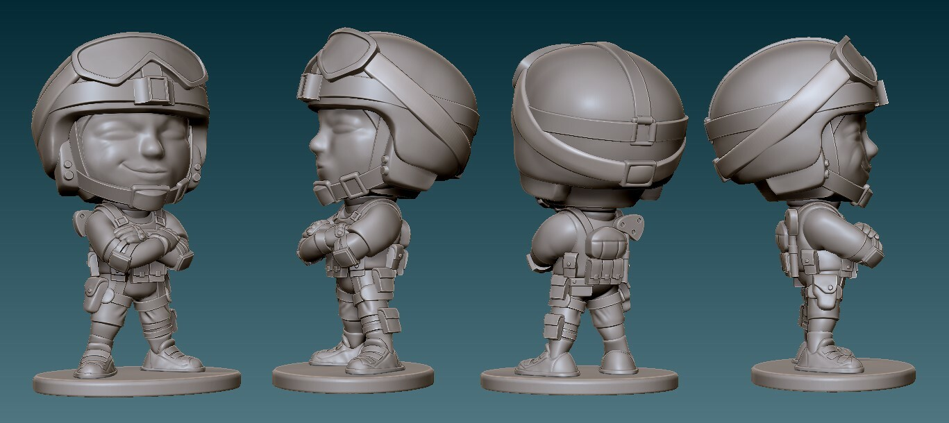 Lesion Final Sculpt
