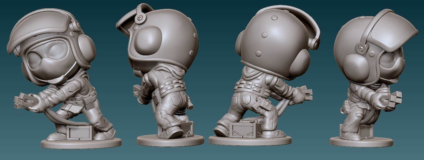Bandit Final Sculpt