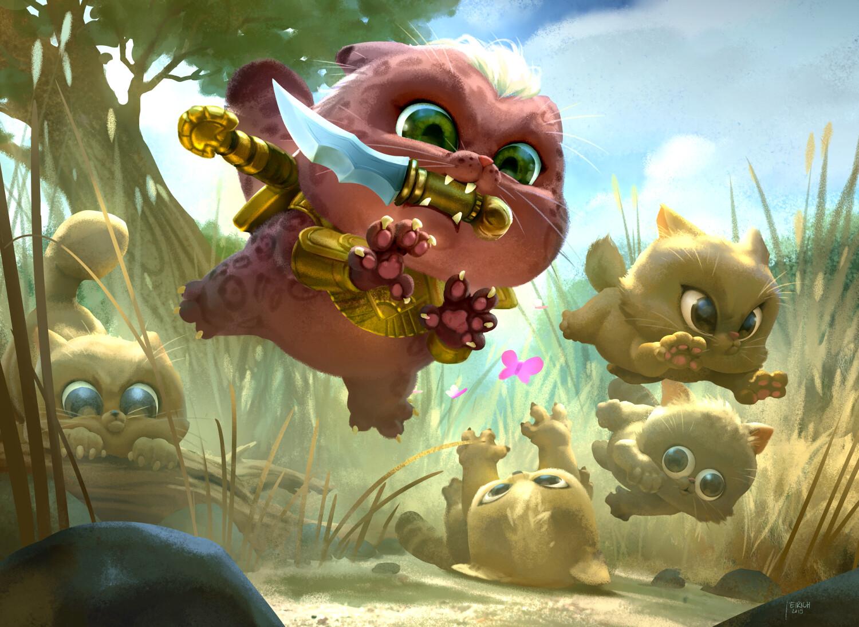 OMG Kitties! - MTG Secret Lair Drop Series
