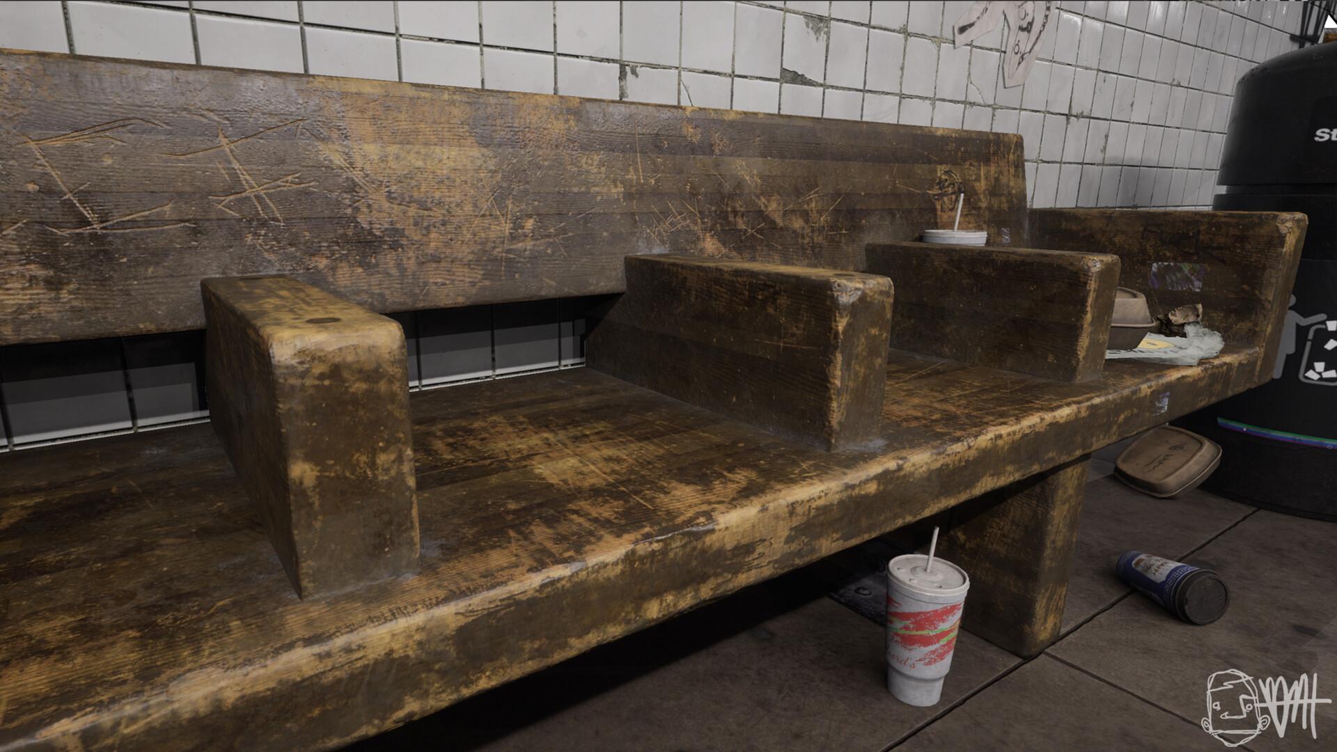 Brett marshall tucker subway wood ue4