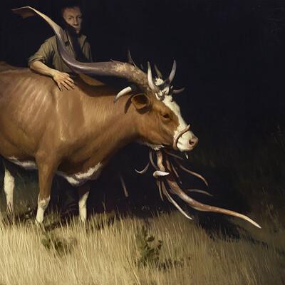 Sergey averkin the cow