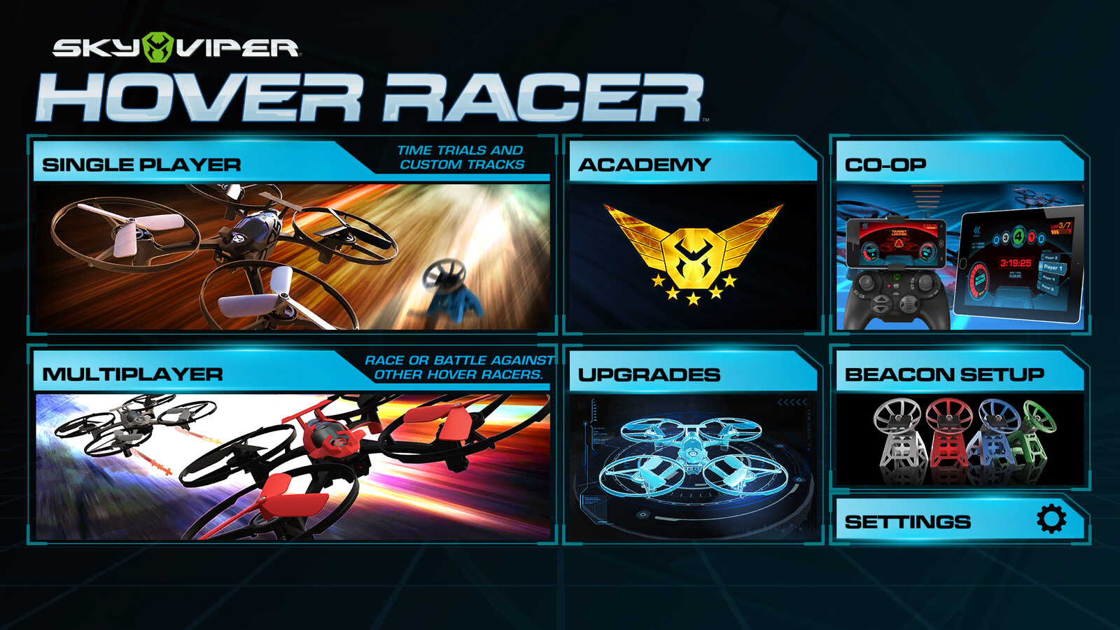 2016 - Hover Racer companion app.