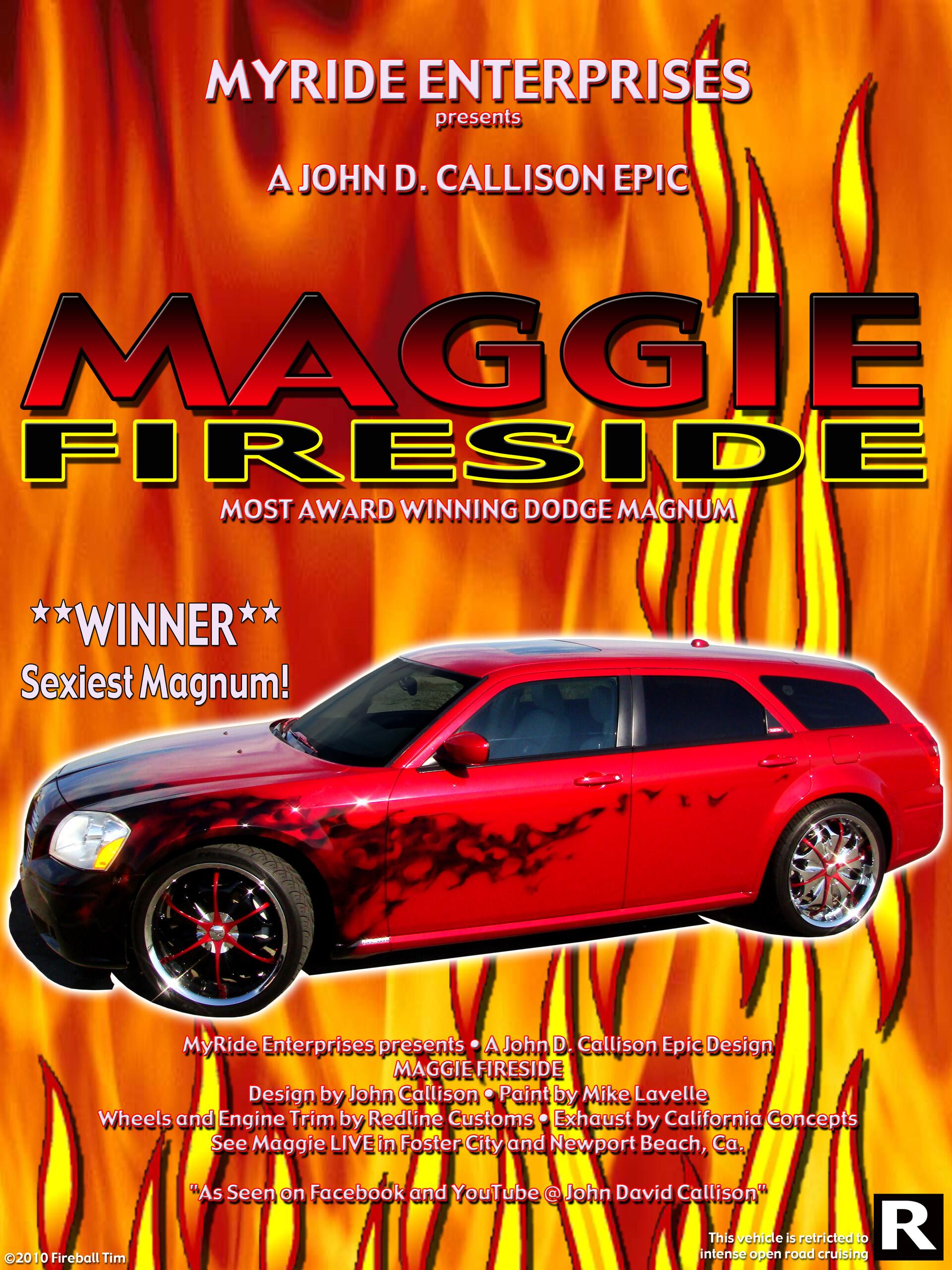 MAGGIE FIRESIDE - Client - John Callison