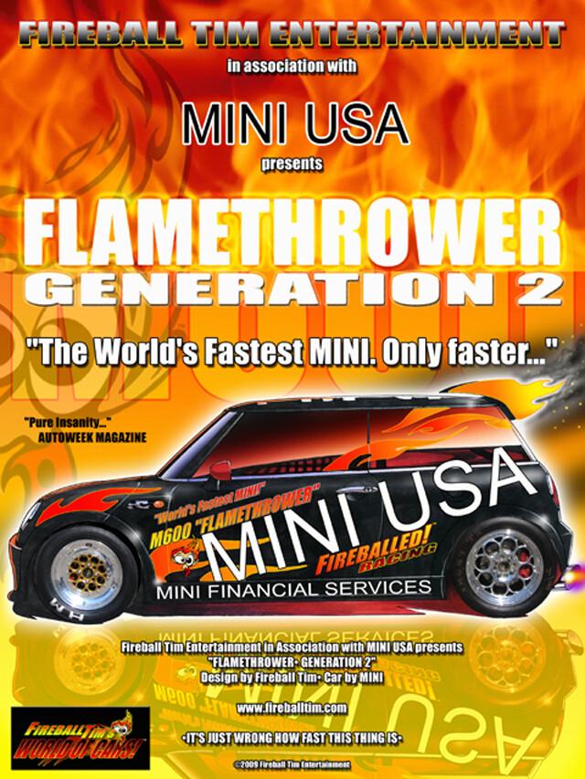 FLAMETHROWER - MINIUSA