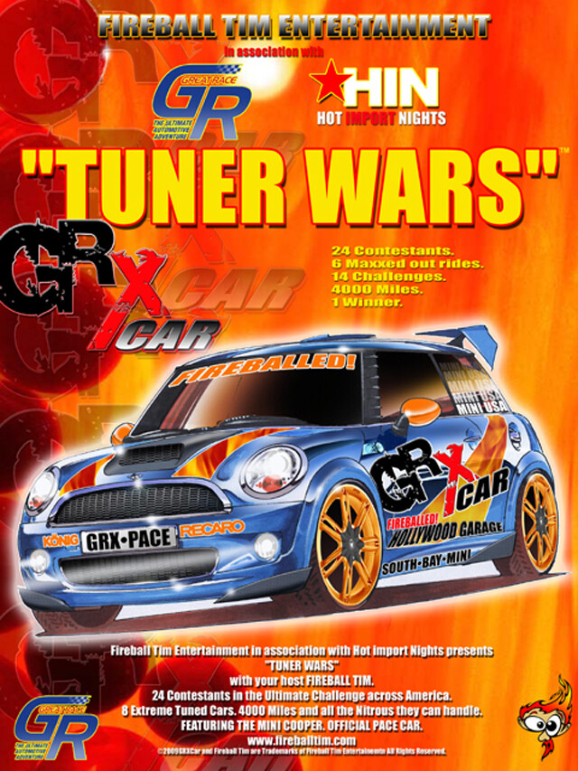 TUNER WARS - Client - THE GREAT RACE