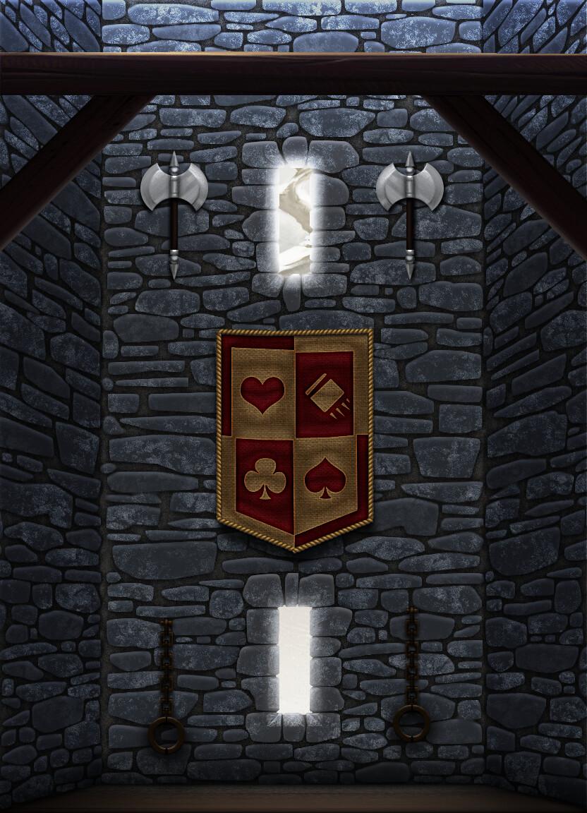 Medieval Dojo Background