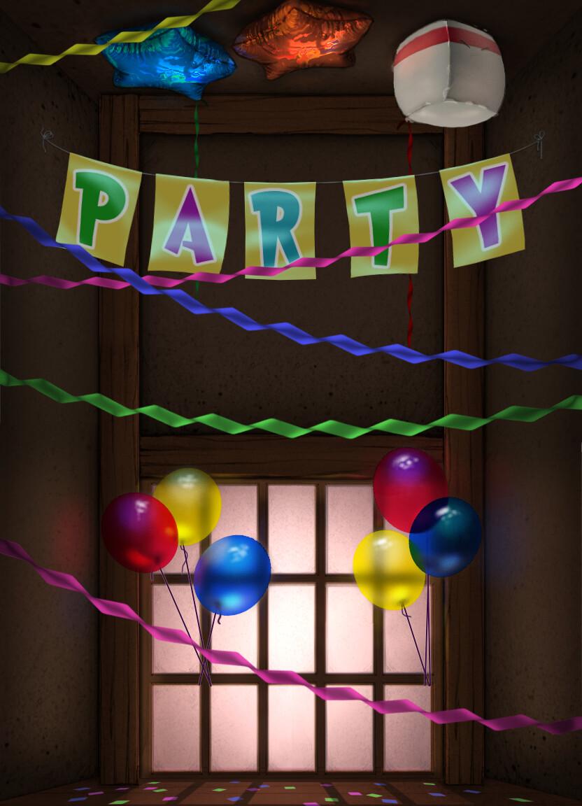 Party Dojo Background