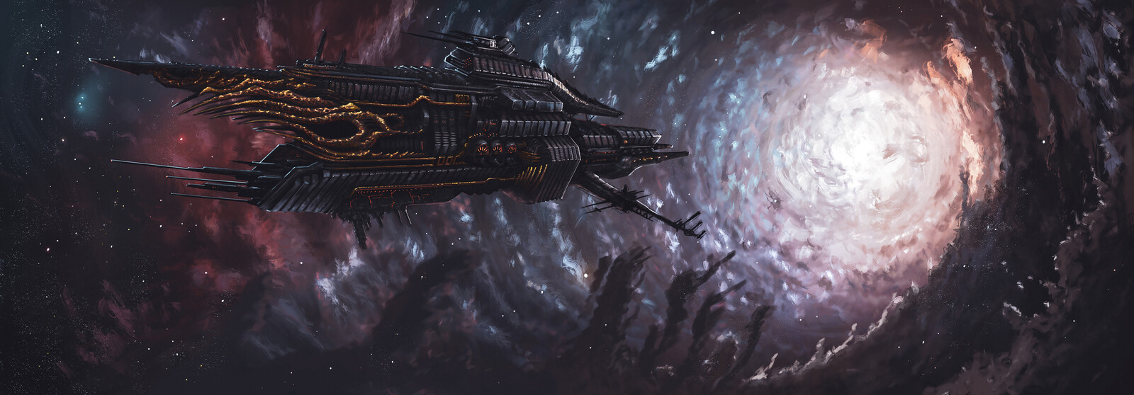 Dark ship