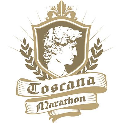 Saimon toncelli toscana marathon logo david tavola disegno 1 copia 3