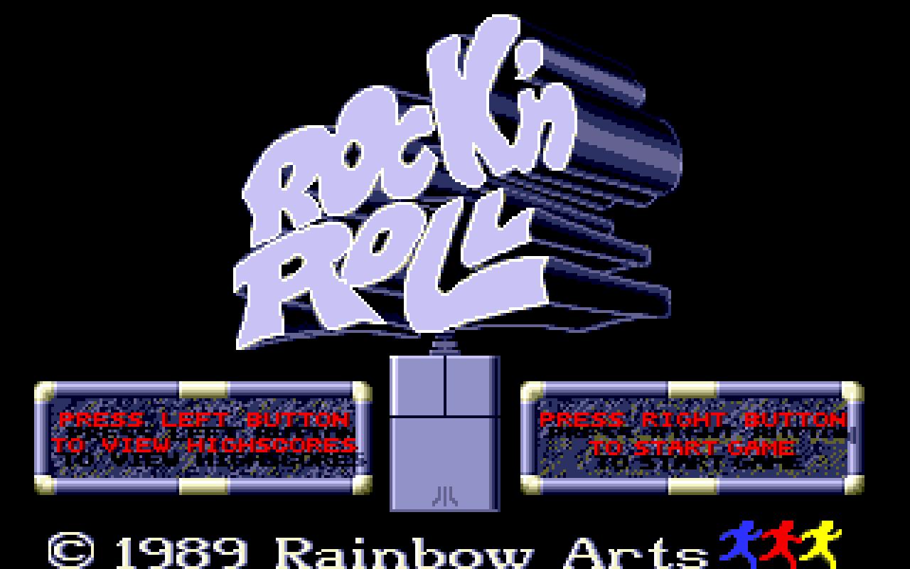 1989 - Rock n' Roll Atari ST, Spectrum & Amstrad-CPC conversions