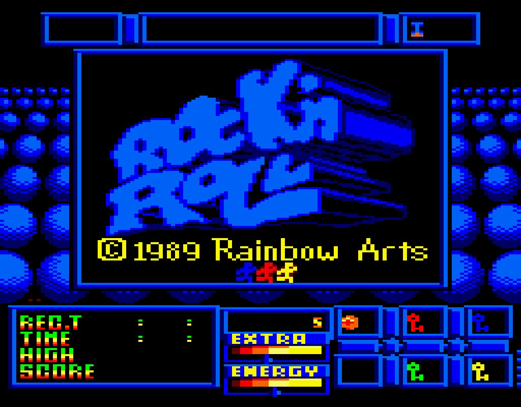 Amstrad-CPC title screen