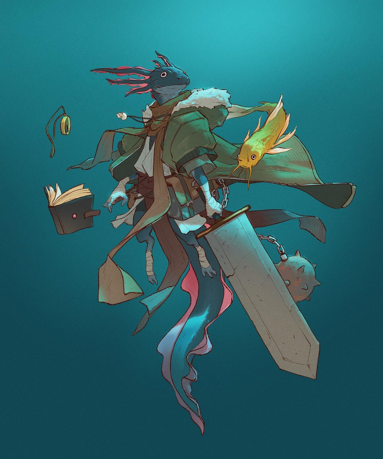 Explorer axolote