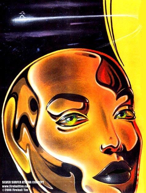FANTASTIC FOUR SILVER SURFER- Get Fireball Coloring Books on Amazon - https://www.amazon.com/-/e/B00QD7MDL8